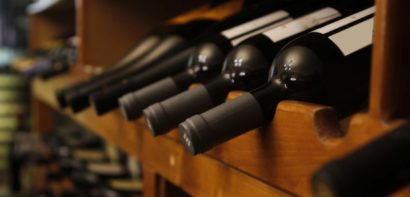many bottles of wine in a row
